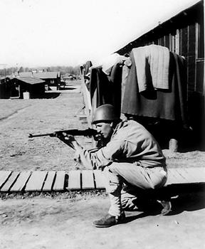 B/363d Med Bn Cp Van Dorn, MS 1943