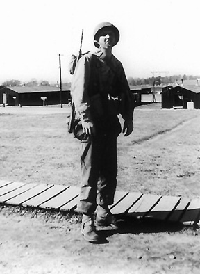 Lewis B/363d Med Bn Cp Van Dorn, MS 1943