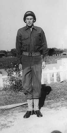 B Co 363d Med Bn Cp Van Dorn, MS 1944