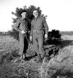 B Co 363d Med Bn Cp Van Dorn MS 1944