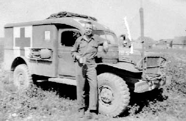 Pfc Howard Dart, B/363d Med Bn, Germany 1945