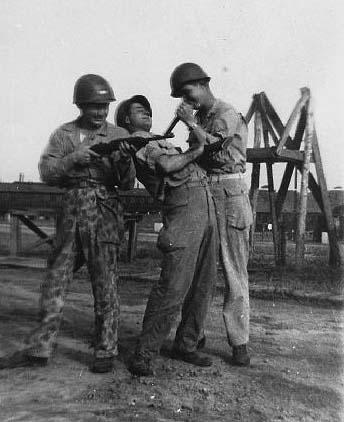 B/363d Med Bn, Cp Van Dorn, MS 1944