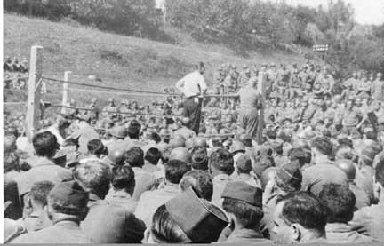 Boxing Match, Germany 1945