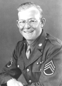 S/Sgt John F. Waters 563d Sig Co- 1944