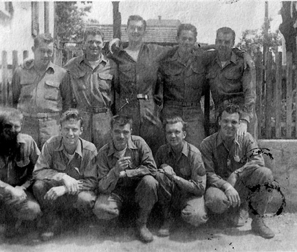 Construction Team #2, 563d Signal Company, Germany 1945