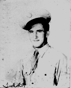 Pfc Theodore Gnias, 63d Recon Troop 1944