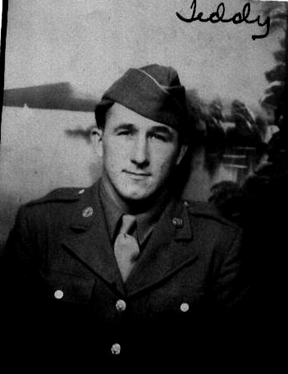 Pfc Theordore Gnais, 63rd Recon Troop, 1944