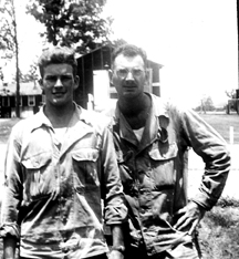 Members B/718th FA Bn Cp Van Dorn, MS 1944
