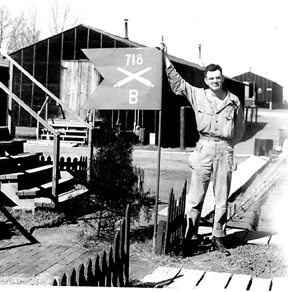 Bernat- B/718th FA Bn Cp Van Dorn, MS 1944