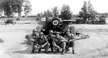 Members- B/718th FA Bn Cp Van Dorn, MS 1944