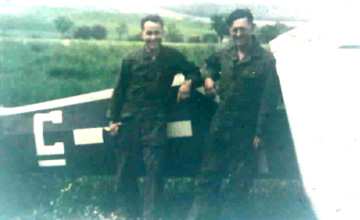 Members of Hq Btry 861st FA Bn Germany 1945