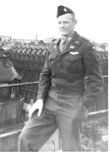 Lt Allen in Paris France 1945