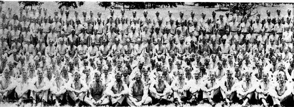 861st FA Bn Cp Van Dorn, MS 1944