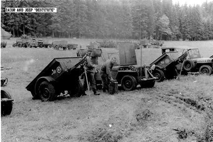 Zacur, B Btry 863d FA Bn Cp Van Dorn, MS 1944