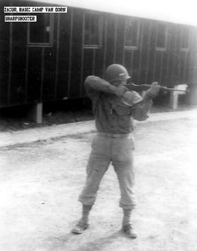 Zacur, B Btry 863d FA Bn, Cp Van Dorn, MS 1943