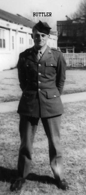 Butler, B Btry 863d FA Bn Cp Van Dorn MS 1943