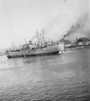 Marseille, France Harbor 1945