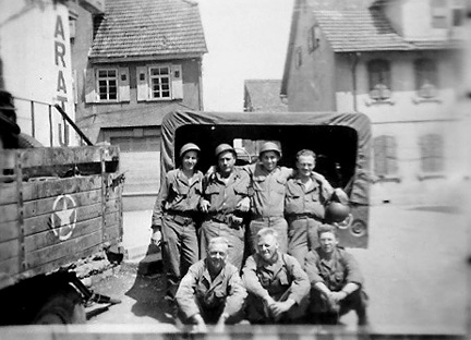 Hq 863d FA Bn Germany 1945