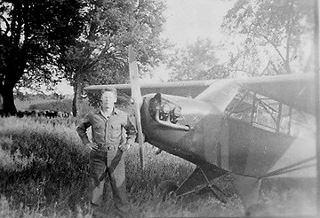 Crosser and Observation plane- Germany 1945