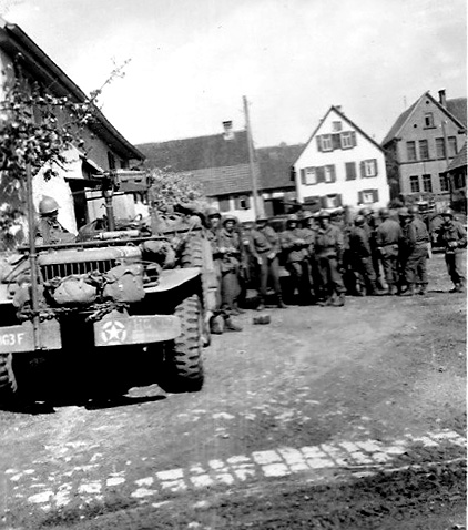 Wire Section Hq 863d FA Bn Germany 1945