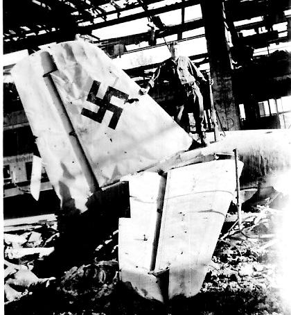 Crosser Hq 863d FA Bn Germany 1945