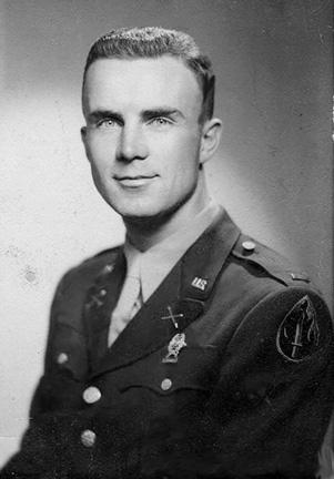 Lt Myers, C 863d FA Bn Cp Van Dorn MS