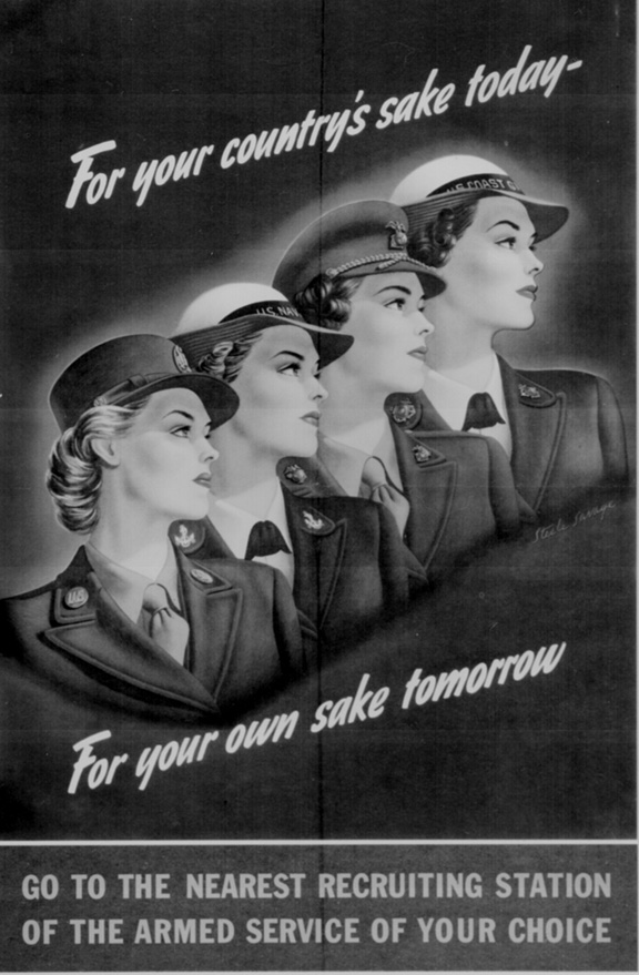 WWII Poster- Recruiting
