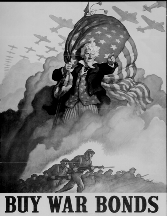WWII Poster- Buy War Bonds