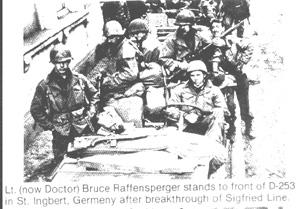 253d Infantry in St Ingbert
