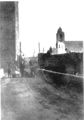 Civilians return to their homes in Waldenburg