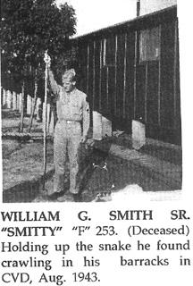 William G Smith, F/253d Cp Van Dorn MS Aug 1943