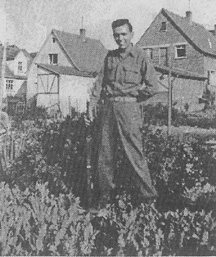 Ed Kelly, E/253 Inf in Germany 1945