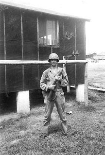 Kinney, H/253d Inf Regt, Cp Van Dorn MS 1944