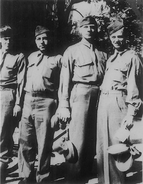 Soldiers D/254th Infantry Germany 1945