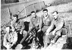 Mortar Squad M Company 254th Inf 1945