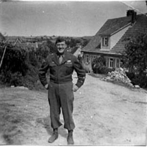 T/Sgt Yakas F/254th Inf Germany 1945