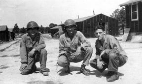 3d Plat I/255th Inf Cp Van Dorn 1944