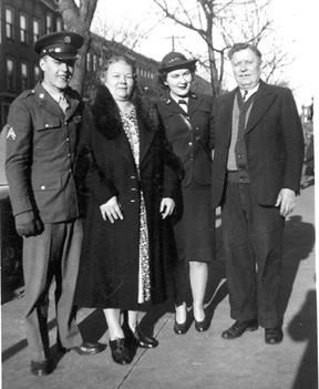 Brazicki family 1944