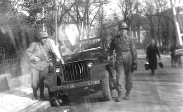 Hq 3d Bn 255th Inf in Heidelberg Germany 1945