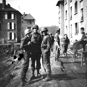 I/255th Inf in Germany 1945