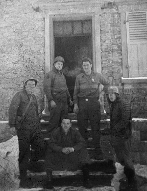 Members of I Co 255th Inf Germany 1945