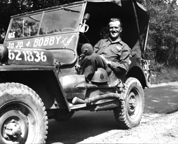 Lanigan, I Company 255th Infantry Kunzelsau Germany 1945