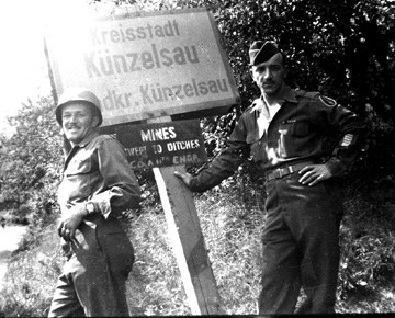 I Company 255th Infantry soldiers Germany 1945