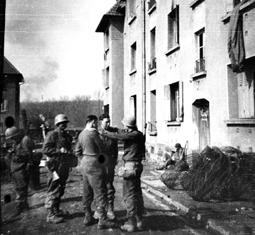 I Company 255th Infantry in Germany 1945
