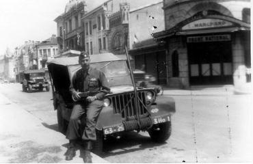LTC Schiffman 255th Inf Regt- Germany 1945