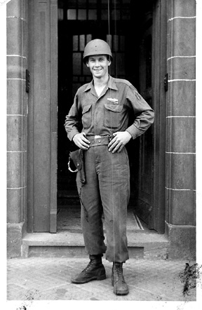 Pfc Hubert Johnson E/255th Inf Germany 1945