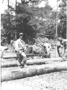 Bridge Building C/263d Engr Bn