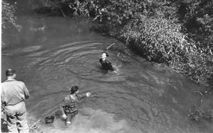 Launching the CO, C/263d Engr Bn
