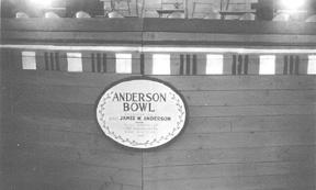 Anderson Bowl Memorial Plaque 263d Engr