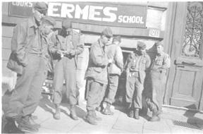 Engineer troops on leave 263d Engr